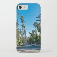 los angeles iPhone & iPod Cases featuring Los Angeles by Luke Callow