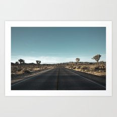 Joshua Tree 1 Art Print