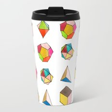 Platonic Solids Travel Mug