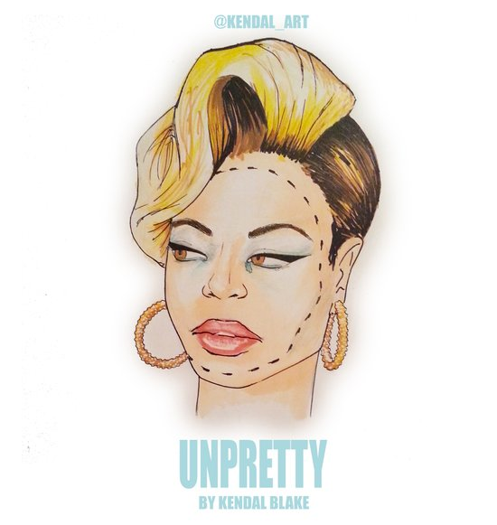 UNPRETTY Art Print