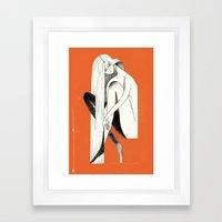 PIN-UP #1 Framed Art Print