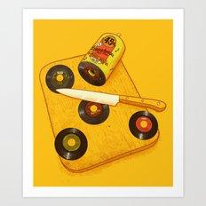 45 rpm Deli Art Print