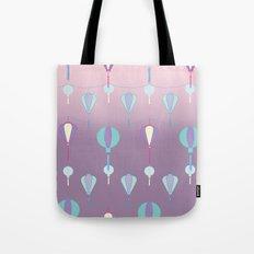 Japanese Lanterns // Graphic Print Tote Bag