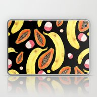 Tropical Juice (black) Laptop & iPad Skin