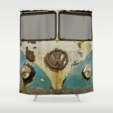 VW Rusty Shower Curtain