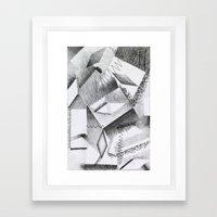Shaded Shapes 2 Framed Art Print