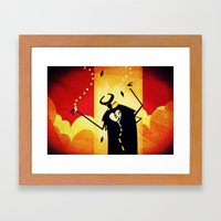 What Mask today...? Framed Art Print
