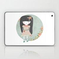 Sad girl Laptop & iPad Skin