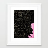 - Electroclouds - Framed Art Print