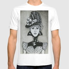 Chastity SMALL White Mens Fitted Tee