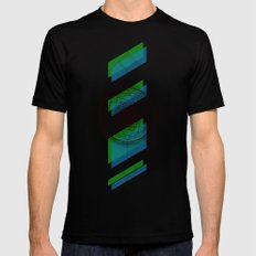 B.G Geo Mens Fitted Tee Black SMALL