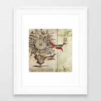Fish of a Feather Framed Art Print