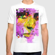 The story SMALL White Mens Fitted Tee