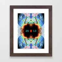 2013 Framed Art Print
