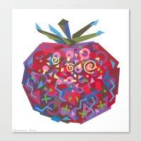 Tomato (Tomate) Canvas Print
