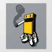 PACKMAN Canvas Print