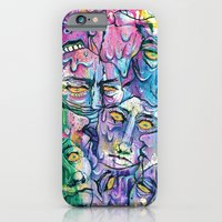 iPhone & iPod Case featuring Melting My Face Off by Katie Owens