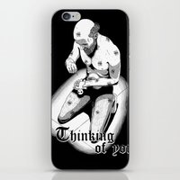 Thinking of you iPhone & iPod Skin