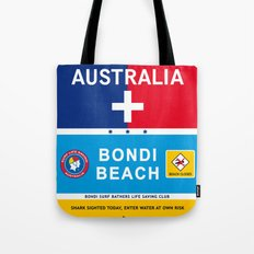 Bondi Beach Sydney Australia Poster iPhone 4 5 6, ipod, ipad case Samsung Galaxy Tote Bag