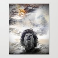 Star Gaze Canvas Print