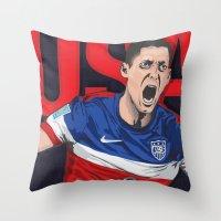 USA World Cup 2014 Throw Pillow