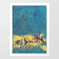 Mystic Blue Art Print