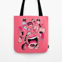 Big Mouths Tote Bag