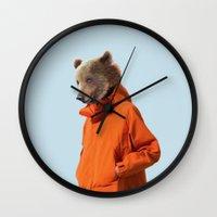 Mr. Storm Wall Clock