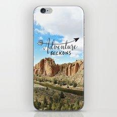 Adventure Beckons- Smith… iPhone & iPod Skin