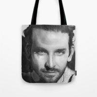 Bradley Cooper Traditional Portrait Print Tote Bag