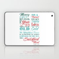 Satisfied Mind Laptop & iPad Skin