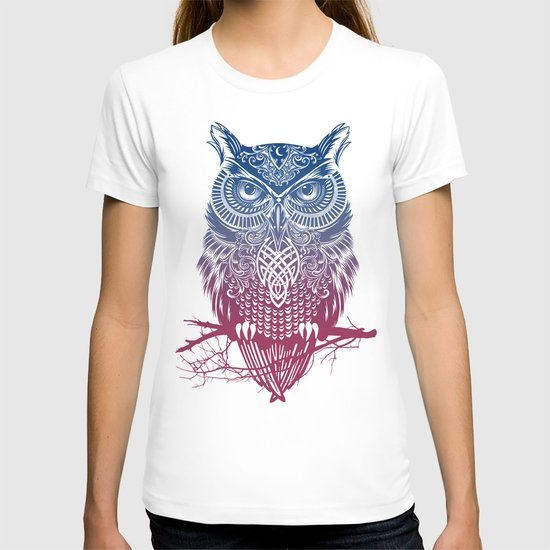 Evening Warrior Owl T-shirt