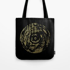 Gold Disc Tote Bag