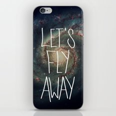 Let's Fly Away (come on, darling) iPhone & iPod Skin