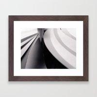Paper Sculpture #3 Framed Art Print