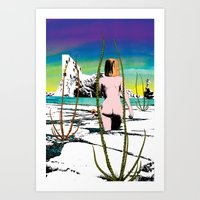 Totally different Art Print