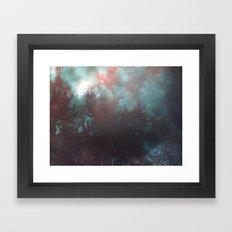 Almost Crimson Framed Art Print