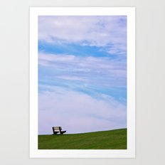 Sit down and relax ...  Art Print