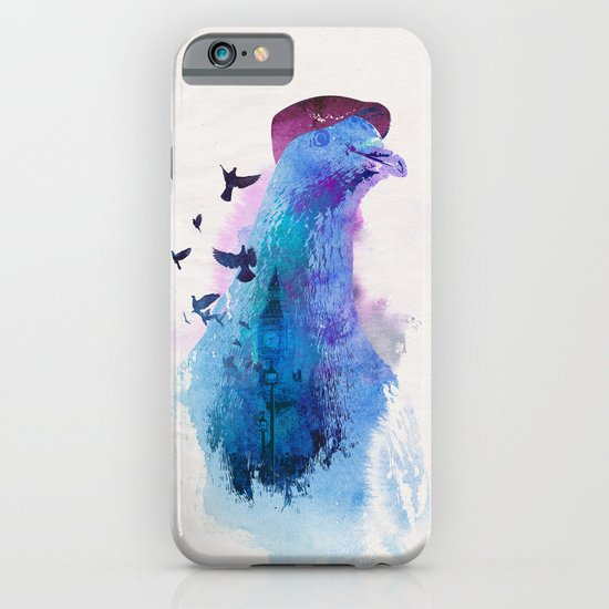 Everybody flies to London iPhone & iPod Case