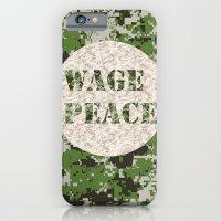 WAGE PEACE iPhone 6 Slim Case