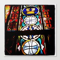 Canvas Print featuring Stained Glass 1 by kschweiz