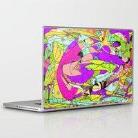 joker Laptop & iPad Skins featuring Joker by Ingrid Padilla