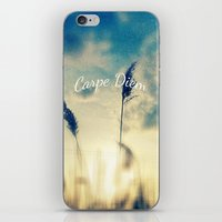 Carpe Diem iPhone & iPod Skin