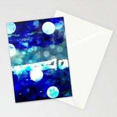 match stick in h2o Stationery Cards