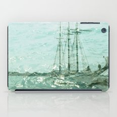 so we beat on, boats against the current... iPad Case