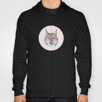 Lynx Lynx portrait Hoody
