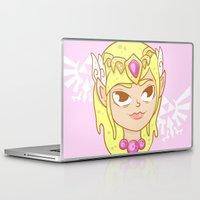 zelda Laptop & iPad Skins featuring  Zelda  by HypersVE