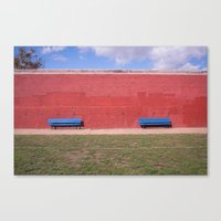 Nice Bench  Canvas Print