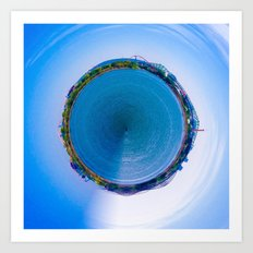 Little Planet of Montreal Art Print