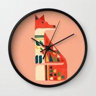Century Fox Wall Clock